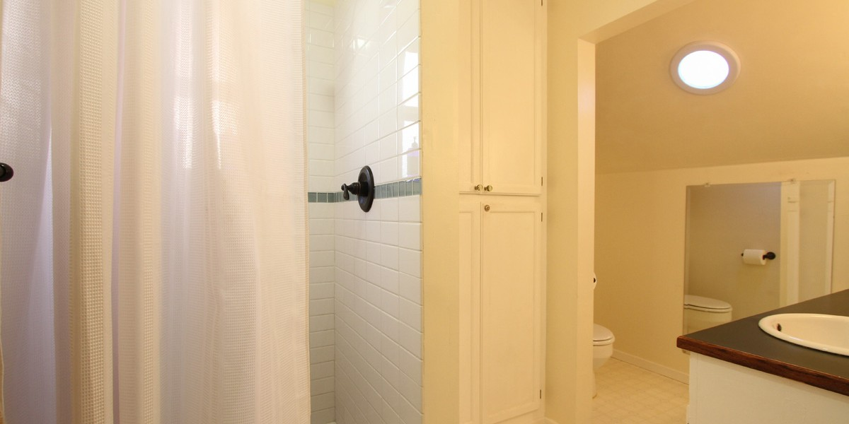 BATHROOM - Clean, well lighted, comfortable,
