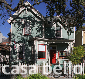 Casa Bello, just steps from Russian River Brewery